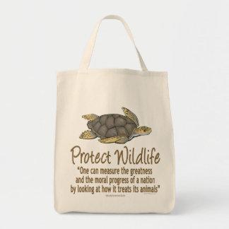 Bescherm de Schildpadden van het Zee Boodschappen Draagtas