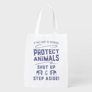 Bescherm Dieren Herbruikbare Boodschappentas