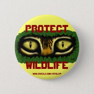 Citaten Kunst Zombie : Wilde tijger buttons zazzle.nl