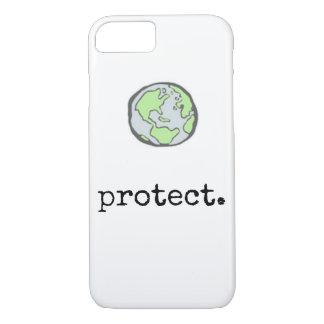 Bescherm Ons Hoesje van de Telefoon van de Planeet