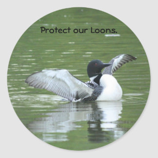 Bescherm onze Stickers van de Duiker
