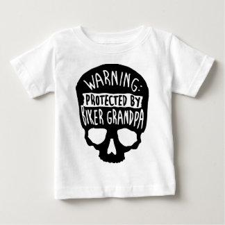Beschermd door een Opa van de Fietser Baby T Shirts