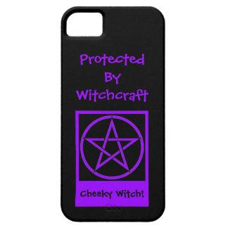 Beschermd door iphone 5 van de Heks van de Barely There iPhone 5 Hoesje