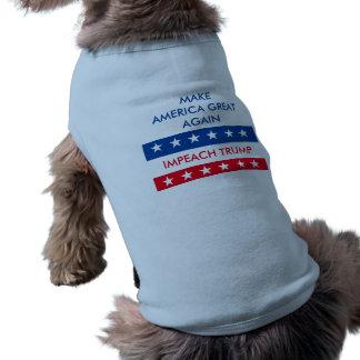 Beschuldig Troef Mouwloos Hondenshirt