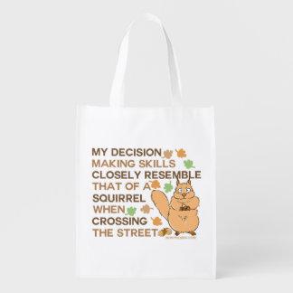 Besluit die - de Humor van de Eekhoorn van Boodschappentas