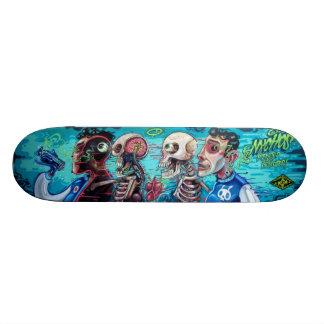 Besmet & Ingespoten - Sk8 het Art. van de Straat Skate Deck