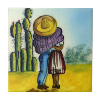Beso - de Mexicaanse Tegel van de Vintage Stijl Tegeltje
