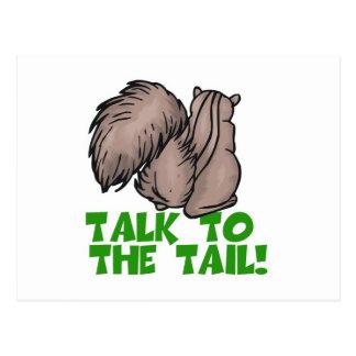 Bespreking aan de Eekhoorn van de Staart Briefkaart