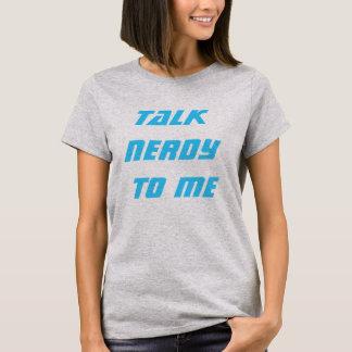 Bespreking nerdy aan me t shirt