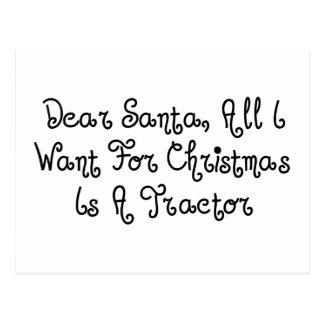 Beste Alle Kerstman wil ik voor Kerstmis ben een Briefkaart