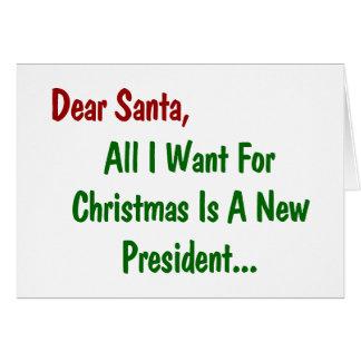 Beste Alle Kerstman wil ik voor Kerstmis ben een Kaart