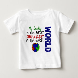 Beste Apotheker in Wereld 2 (Papa) Baby T Shirts