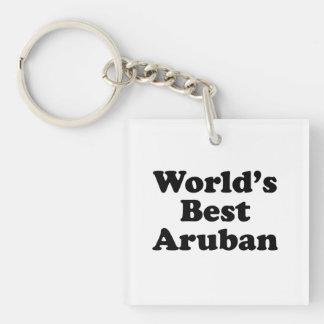 Beste Aruban van de wereld Sleutelhanger