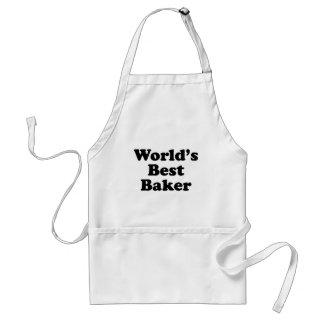 Beste Baker van de wereld Standaard Schort