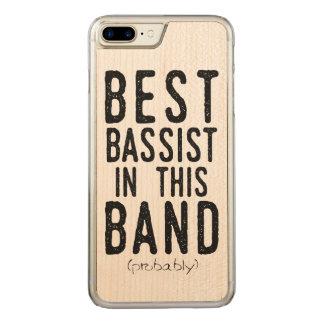 Beste Bassist (waarschijnlijk) (blk) Carved iPhone 7 Plus Hoesje