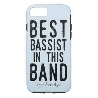 Beste Bassist (waarschijnlijk) (blk) iPhone 8/7 Hoesje