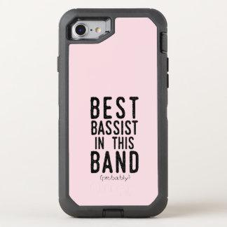 Beste Bassist (waarschijnlijk) (blk) OtterBox Defender iPhone 8/7 Hoesje