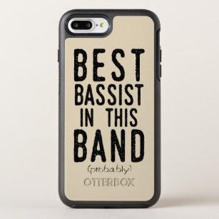 Beste Bassist (waarschijnlijk) (blk) OtterBox Symmetry iPhone 8 Plus / 7 Plus Hoesje