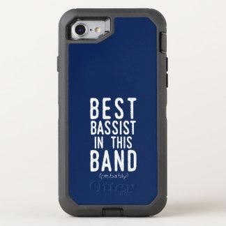 Beste Bassist (waarschijnlijk) (wht) OtterBox Defender iPhone 8/7 Hoesje