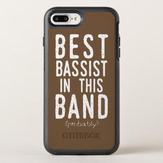 Beste Bassist (waarschijnlijk) (wht) OtterBox Symmetry iPhone 8 Plus / 7 Plus Hoesje