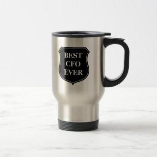 Beste CFO ooit reismok met citaat Koffie Mokken