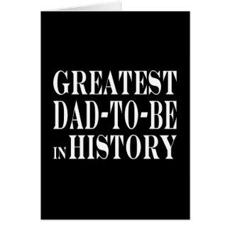 Beste Dads om Grootste Papa te zijn om in Notitiekaart