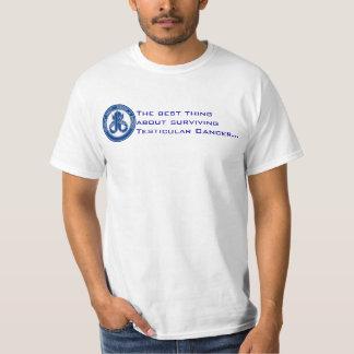 Beste deel van overlevende testicular kanker! t shirt