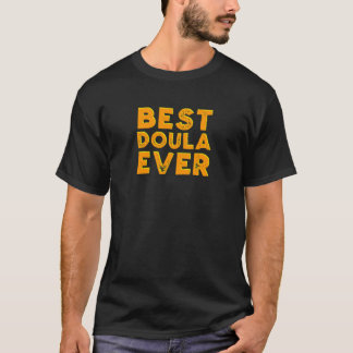 Beste doula ooit t shirt