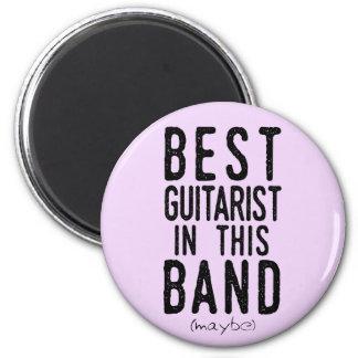 Beste Gitarist (misschien) (blk) Magneet
