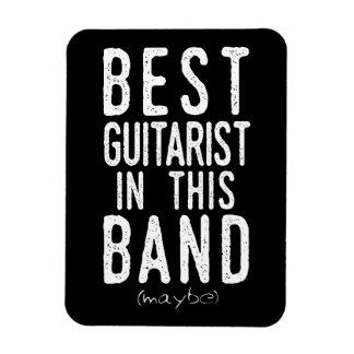 Beste Gitarist (misschien) (wht) Magneet