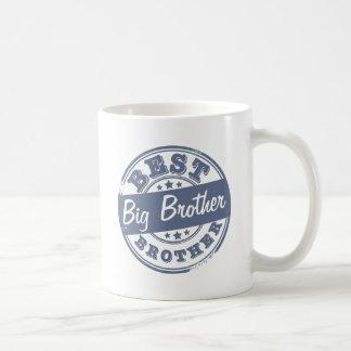 Beste Grote Broer - rubberzegeleffect - Basic Witte Mok