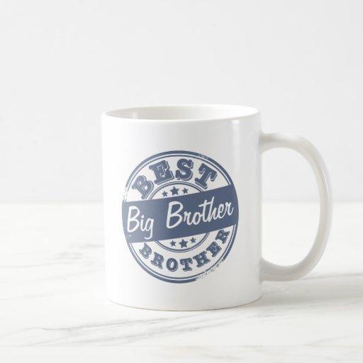 Beste Grote Broer - rubberzegeleffect - Koffie Beker