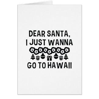 Beste Kerstman die ik enkel heb willen om naar Briefkaarten 0