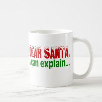 Beste Kerstman, kan ik verklaren Koffiemok