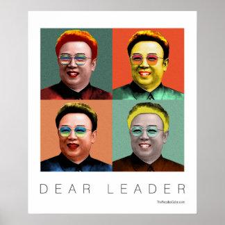 Beste Leider Kim Jong Il Poster