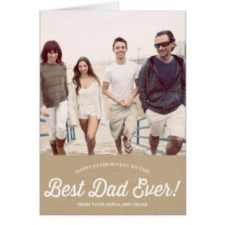 Foto vaderdagkaarten