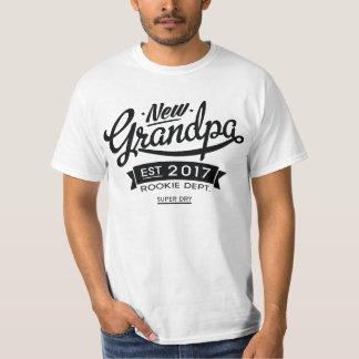 Beste Nieuwe Opa 2017 T Shirt