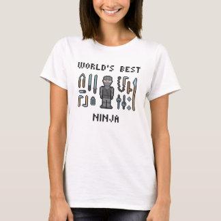 Beste Ninja van de wereld T Shirt