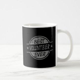 Beste ooit Grijze Vrijwilliger Koffiemok