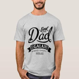 Beste Papa in de Melkweg T Shirt