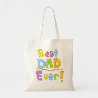 Beste Papa ooit Budget Draagtas
