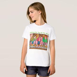 Beste Seat op het Blok - de Bovenkant van Buigt T Shirt