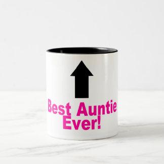 Beste Tante ooit Tweekleurige Koffiemok