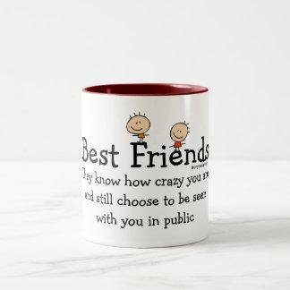 Beste Vrienden Koffie Mok