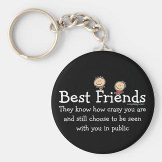 Beste Vrienden Sleutel Hangers