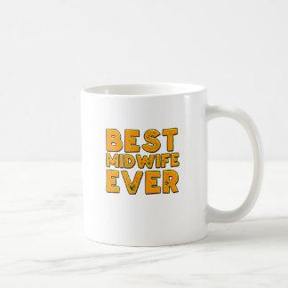 Beste vroedvrouw ooit koffiemok