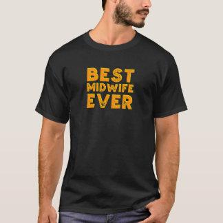 Beste vroedvrouw ooit t shirt