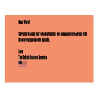 Beste Wereld Briefkaart