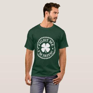 Bestrijd me ik ben Iers - St Patrick Day T-shirt