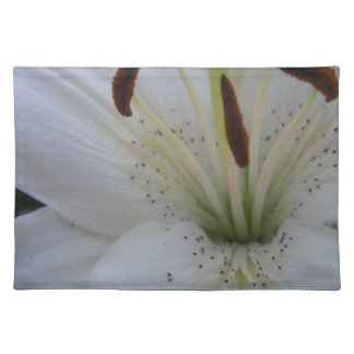 Bestrooide Witte Lelie Placemat